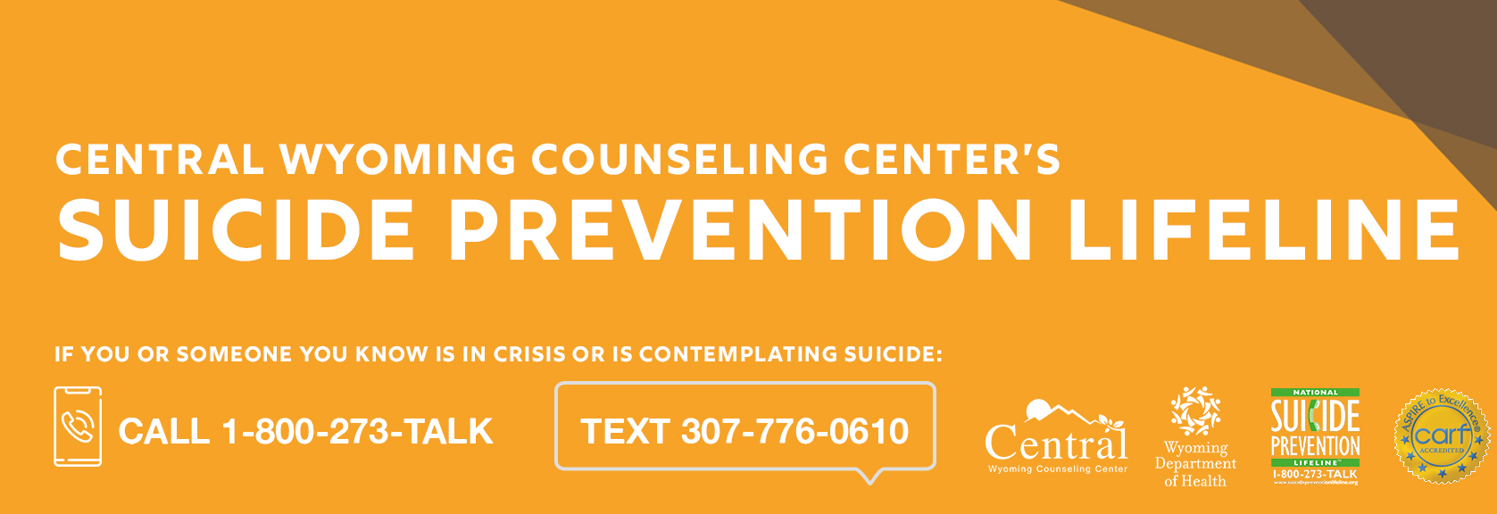 CWCC SUICIDE Lifeline